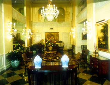 Indianapolis Canterbury Hotel Lobby View